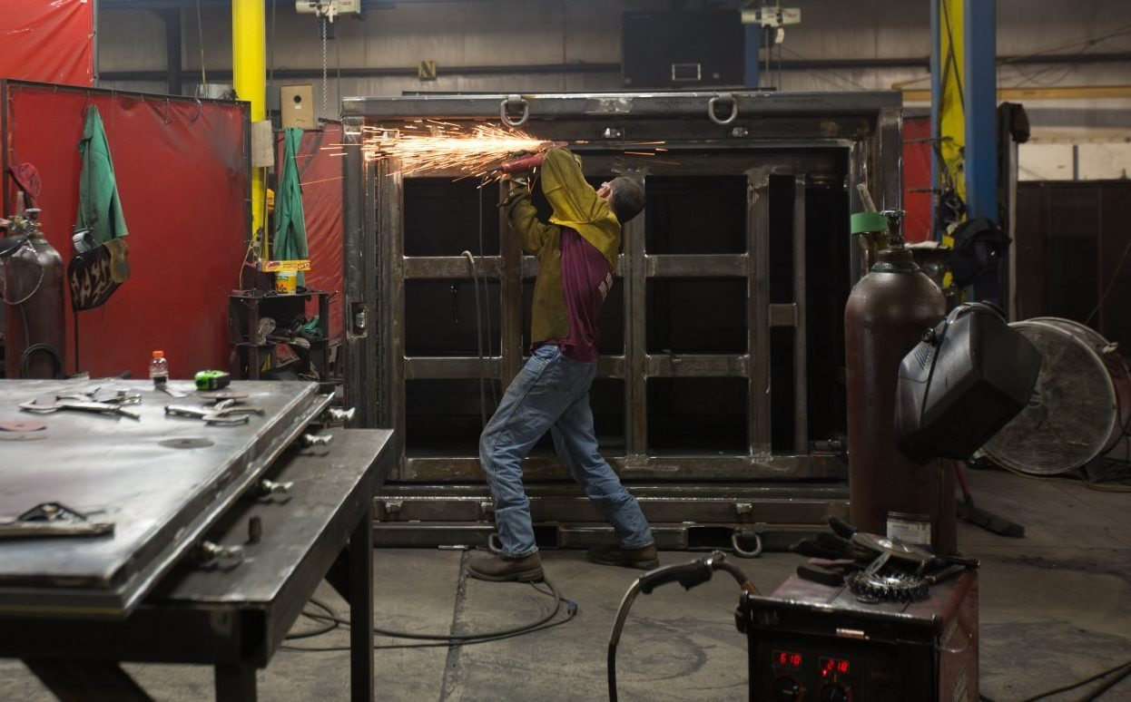 Metal Fabrication at Container Technologies Industries